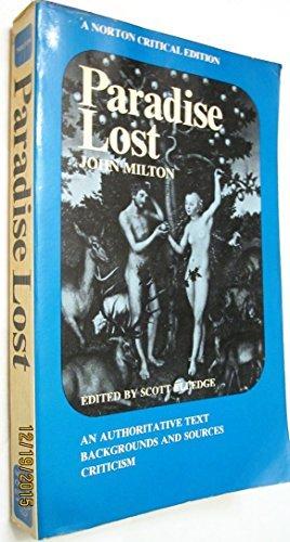 Paradise Lost (Norton Critical Editions): John Milton