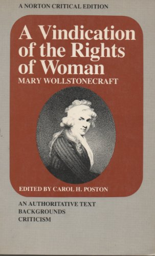 mary wollstonecraft a vindication of the rights of women analysis