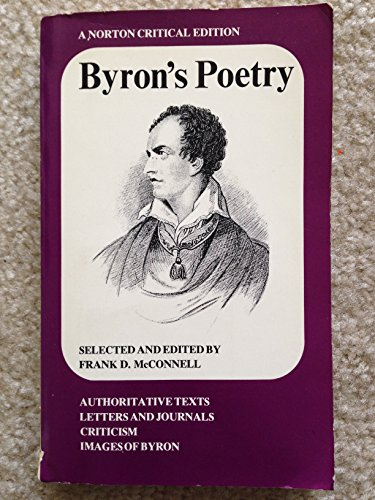 9780393044522: Title: Byrons Poetry Norton Critical Editions
