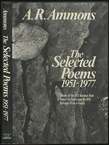 Stock image for Selected Poems : Nineteen Fifty One-Nineteen Seventy Seven for sale by Better World Books