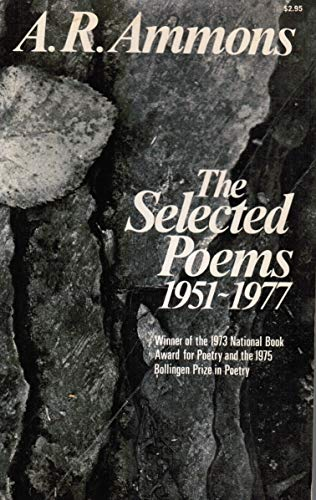 Stock image for Selected Poems : Nineteen Fifty One-Nineteen Seventy Seven for sale by Better World Books: West