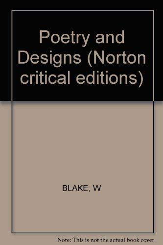 9780393044874: Poetry and Designs (Norton critical editions)
