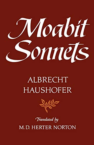 Haushofer Moabit *sonnets*: A HAUSHOFER