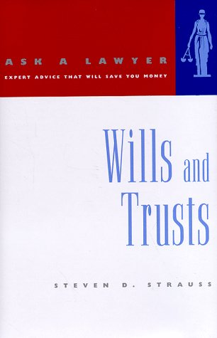 9780393045833: Wills and Trusts (Ask a Lawyer)