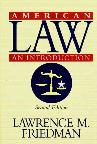 9780393046106: American Law an Introduction Edition