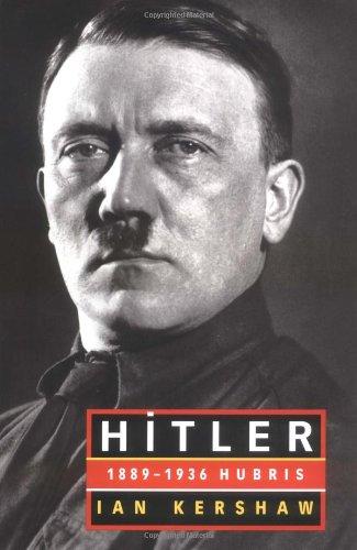 9780393046717: Hitler: 1889-1936 Hubris