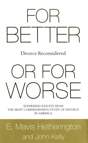 9780393048629: For Better or for Worse: Divorce Reconsidered