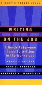 9780393048780: Writing on the Job: A Norton Pocket Guide