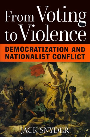 9780393048810: From Voting to Violence: Democratization and Nationalist Conflict