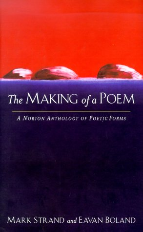9780393049169: The Making of a Poem: A Norton Anthology of Poetic Forms