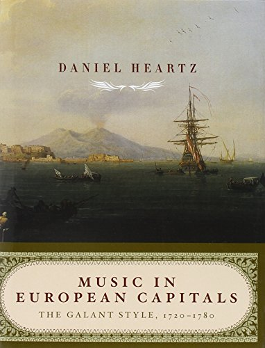 9780393050806: Music in European Capitals: The Galant Style, 1720-1780