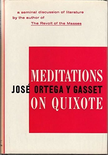 9780393052930: Meditations on Quixote