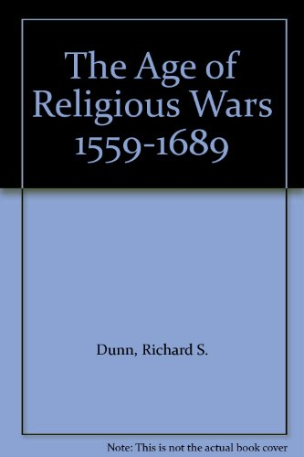 9780393053890: The Age of Religious Wars 1559-1689