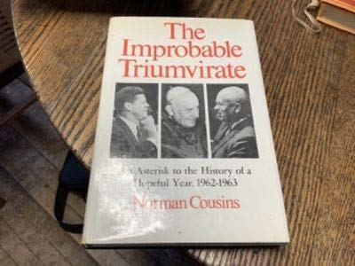 The improbable triumvirate: John F. Kennedy, Pope: Cousins, Norman