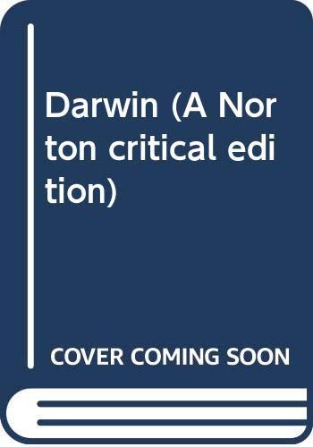 9780393054125: Darwin (A Norton critical edition)