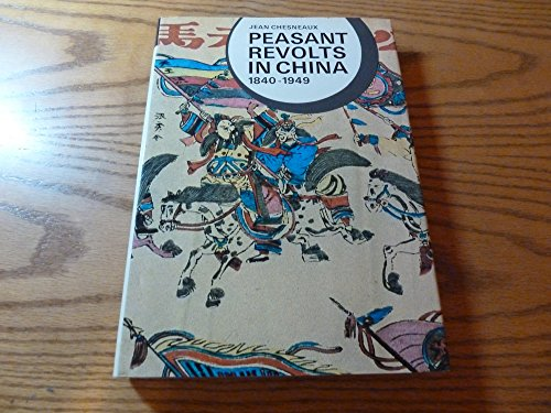 9780393054859: Peasant revolts in China, 1840-1949