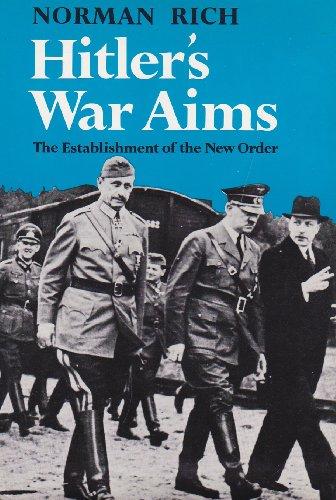 9780393055092: Hitler's War Aims: the Establishment of the New Order