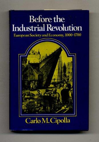 9780393055382: Cipolla before the Industrial Revoluti