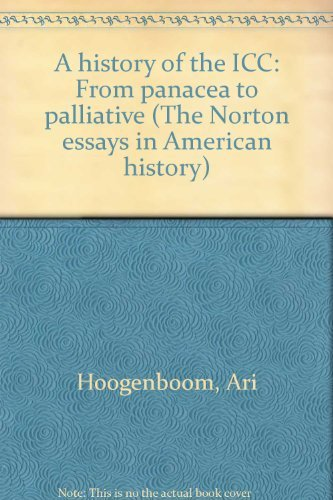History of the ICC From Panacea to: Hoogenboom, Ari Olive