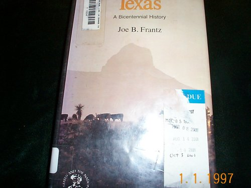 Texas; A Bicentennial History [Ralph Yarborough]