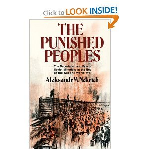 The Punished Peoples (English and Russian Edition): Nekrich, Aleksandr M.
