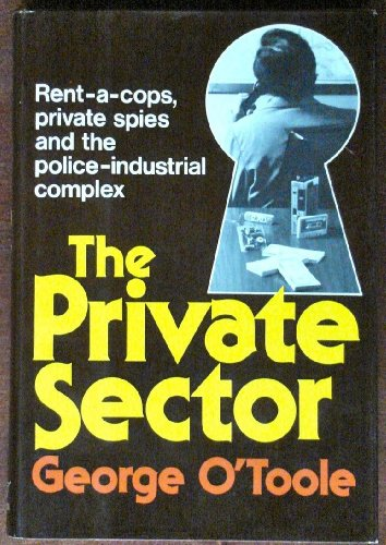 9780393056471: The Private Sector: Private Spies, Rent-A-Cops, and the Police-Industrial Complex