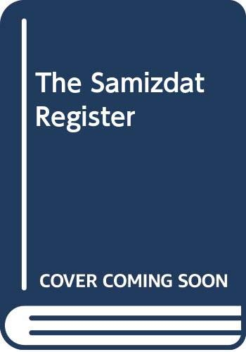 The Samizdat Register (039305652X) by Roy Aleksandrovich Medvedev