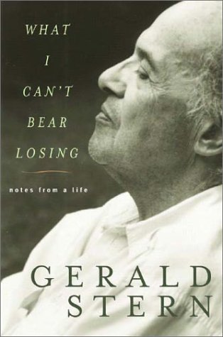 9780393058185: What I Can't Bear Losing: Notes from a Life