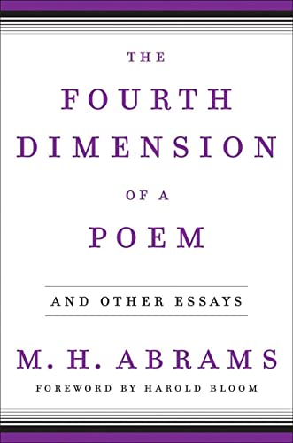 9780393058307: The Fourth Dimension of a Poem: And Other Essays