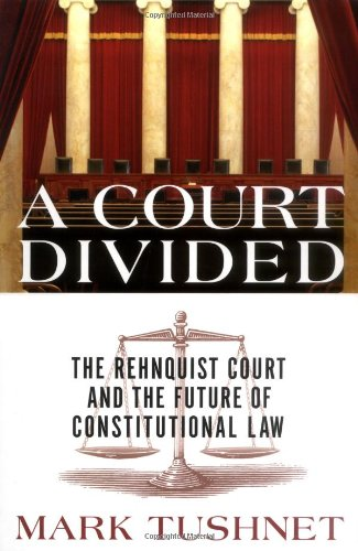 9780393058680: A Court Divided: The Rehnquist Court And The Future Of Constitutional Law