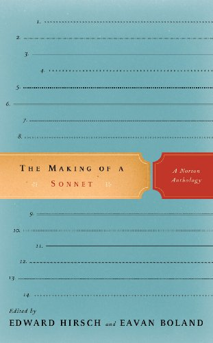 9780393058710: The Making of a Sonnet: A Norton Anthology