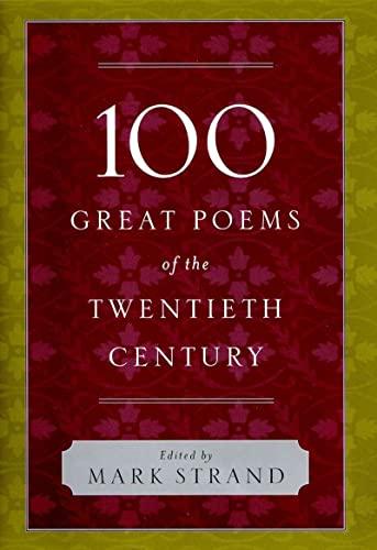 9780393058949: 100 Great Poems of the Twentieth Century