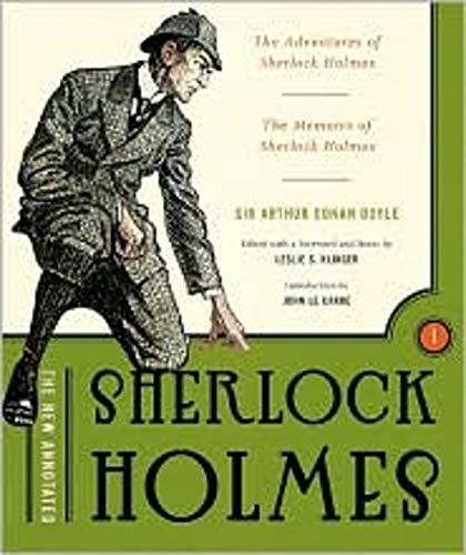 9780393059144: The New Annotated Sherlock Holmes, Volume 1: The Adventures of Sherlock Holmes & the Memoirs of Sherlock Holmes (non-slipcased edition)