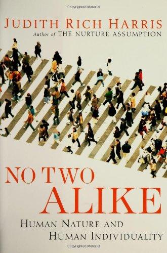 9780393059489: No Two Alike: Human Nature and Human Individuality