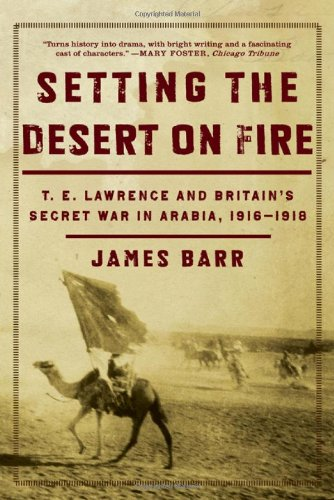 9780393060409: Setting the Desert on Fire: T. E. Lawrence and Britain's Secret War in Arabia, 1916-1918