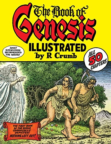 9780393061024: The Book of Genesis Illustrated by R. Crumb