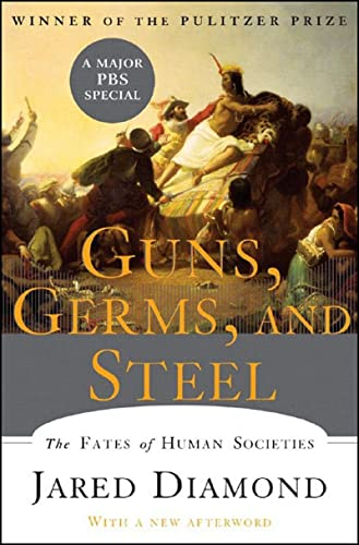 9780393061314: Guns Germs and Steel: The Fates of Human Societies