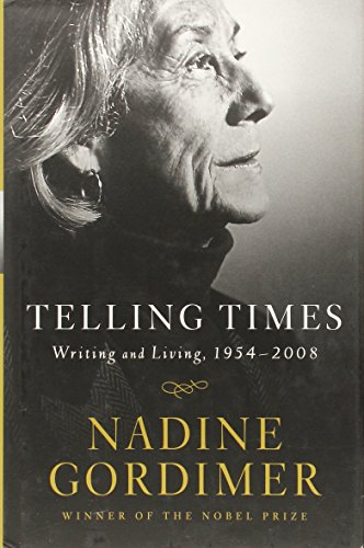 9780393066289: Telling Times: Writing and Living, 1954-2008