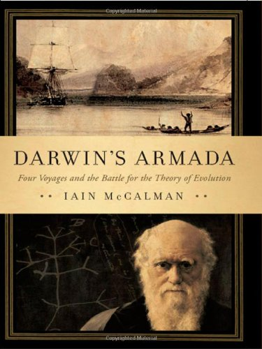 9780393068146: Darwin's Armada: Four Voyages and the Battle for the Theory of Evolution