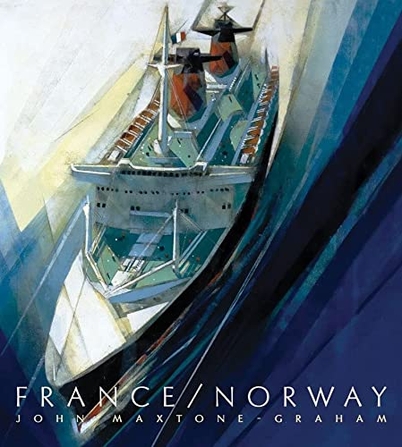 9780393069037: France/Norway: France's Last Liner/Norway's First Mega Cruise Ship