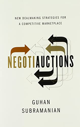 9780393069464: Negotiauctions: New Dealmaking Strategies for a Competitive Marketplace
