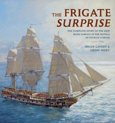 9780393070620: The Frigate Surprise: The Complete Story of the Ship Made Famous in the Novels of Patrick O'brian