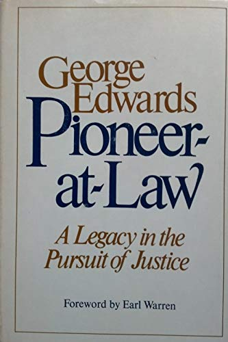 9780393074833: Pioneer-at-Law: A Legacy in the Pursuit of Justice