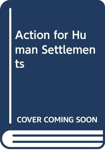 9780393083613: Action for Human Settlements