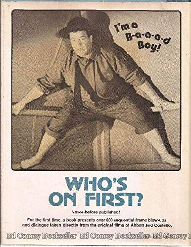 Who's on first?: Verbal and visual gems from the films of Abbott & Costello (9780393085358) by Anobile, Richard J