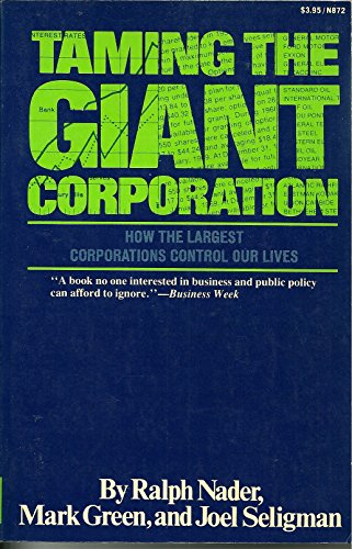 9780393087536: Taming the giant corporation
