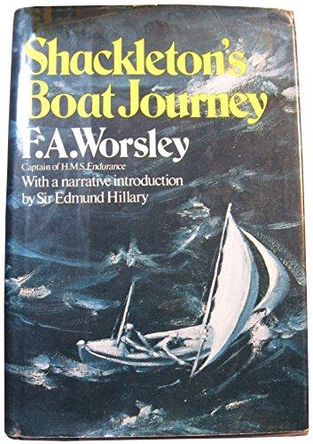 9780393087598: Shackleton's Boat Journey