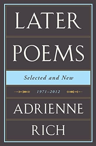 9780393089561: Later Poems: Selected and New, 1971-2012