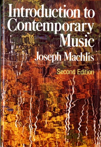 9780393090260: Introduction to Contemporary Music (Second Edition)