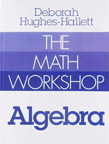 9780393090307: The Math Workshop: Algebra